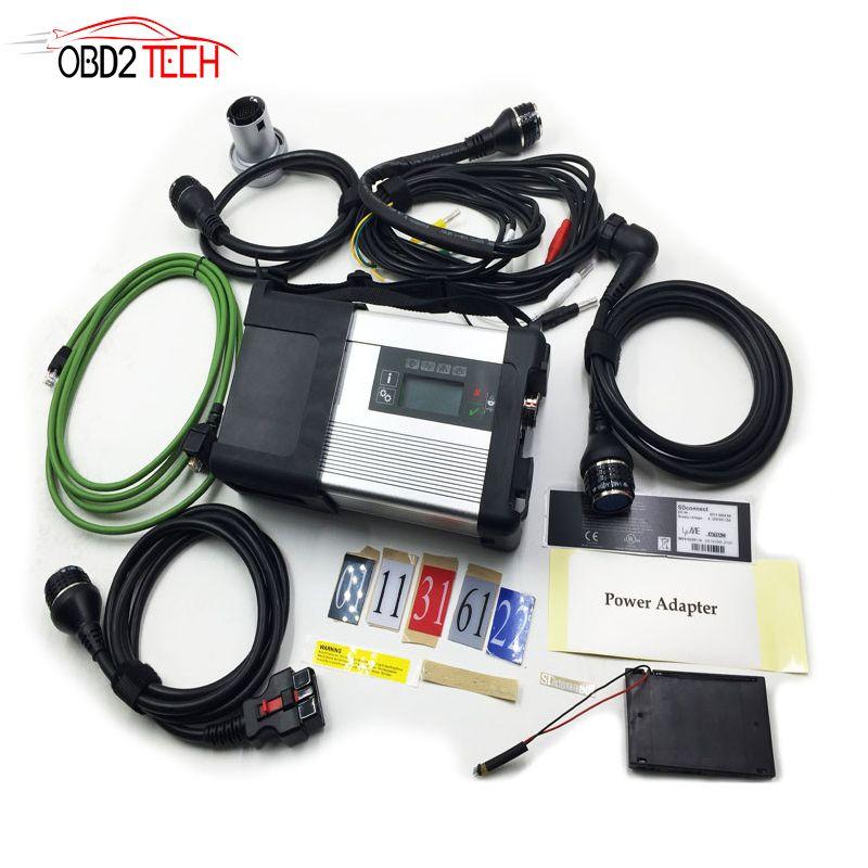 MB SD Stern C5 SD Schließen Kompakte 5 Sterne Diagnose mit WIFI für Autos und Lkw Multi-Langauge ohne software HDD