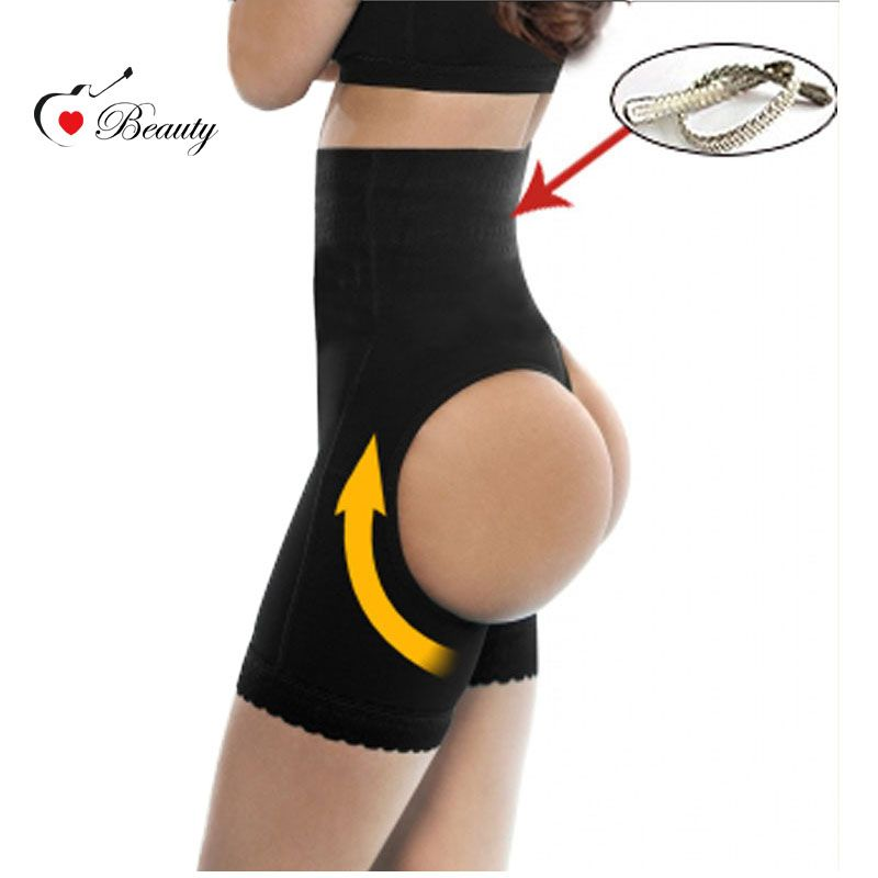 Lover Beauty Waist Shapewear Workout Waist Trainer Steel Corset Butt Lifter with Tummy Control XXL Booty Lifter Two Holes Hot