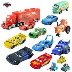 27 Styles Disney Pixar Cars 3 Foudre McQueen Jackson Tempête Ramirez Diecast Metal Alliage Modèle Jouet Éducatif Cadeau De Voiture Pour Kid