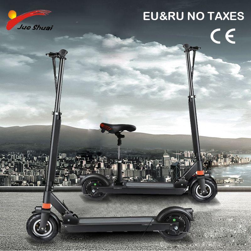 8 zoll Elektrische roller mit sitz Zwei Rad kick roller Erwachsene motor Roller Elektrische skateboard hover board elektrische Unisex
