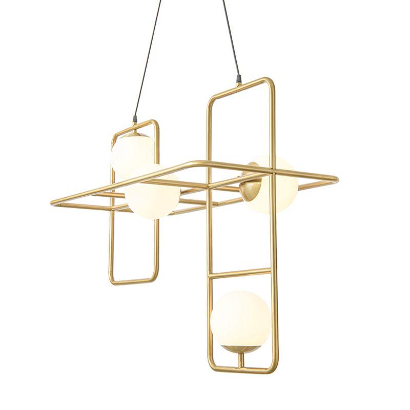 Nordic Modern simple fashion pendant light living room dining room bedroom lamps led iron creative art designer lighting fixture