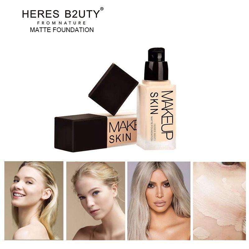 Marque VOICI B2UTY Base de Maquillage Liquide Fondation Longlasting À L'épreuve De L'eau anti-cernes blanchiment hydratant contrôle 30 ml