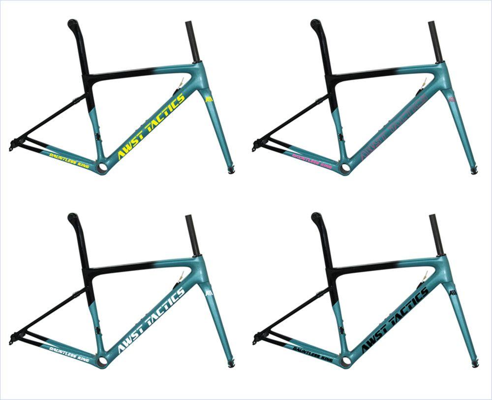 Taiwan OEM Max Tyre 700*25C Aero Carbon Fibre Road Bike Frame Gravel Cyclocross carbon frameset road racing bicycle bike wheels
