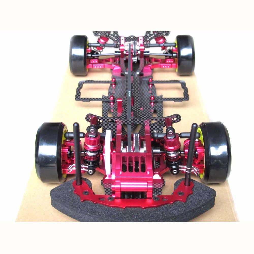 Hobbypower OEM Alloy & Carbon SAKURA D3 CS 3R OP RC 1/10 4WD Drift Racing Car Frame Kit 1:10