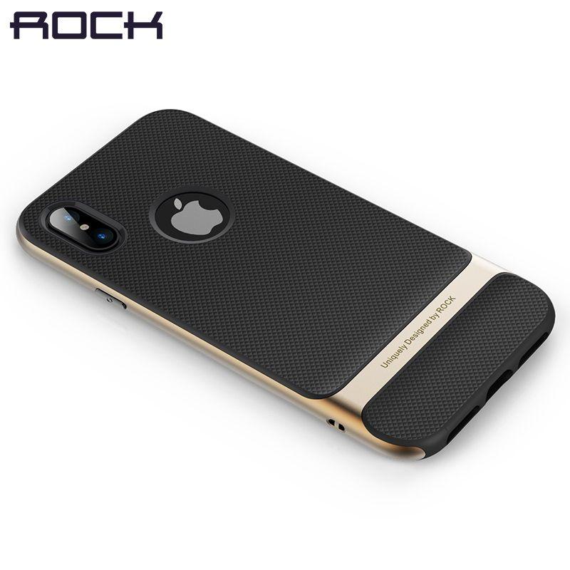 Royce Série pour l'iphone X Cas, ROCK Classique Cas de Téléphone pour iPhone X Retour Protecteur Shell pour iPhoneX