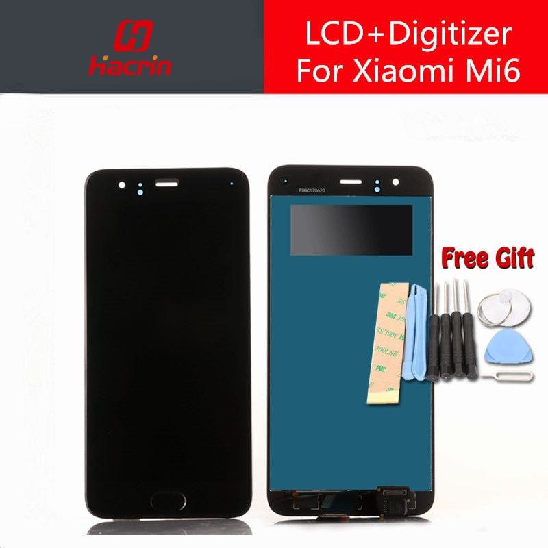 for Xiaomi Mi6 LCD Display + Touch Screen 100% New FHD 5.15 Digitizer Assembly Replacement For Xiaomi MI 6 M6 Mobile Phone