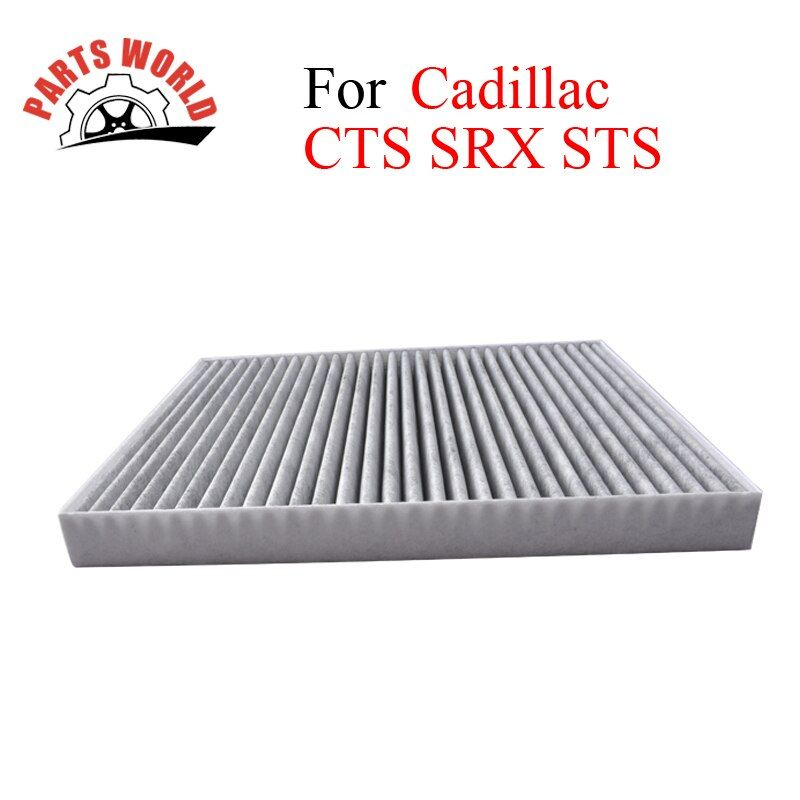 Car Parts Carbon Cabin Filter For Cadillac CTS SRX STS 2004-2014 Auto Accessories OEM 88957450 19130403 25740404 High Quality