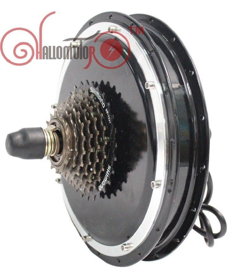 ConhisMotor 36 V 48 V 1200 Watt Brushless Getriebelose Gewinde Hinterradnabe Motor für Ebike Rad Mit Einzel 6 oder 7 Gang