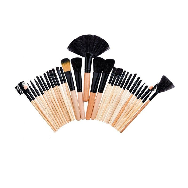 24/32 PC Premiuim Maquillage brosse set de Haute Qualité Doux Taklon Cheveux Maquillage Professionnel Artiste Brosse Outil Kit