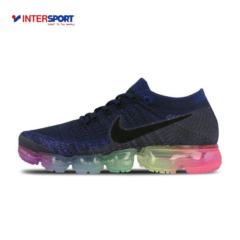 Intersport оригинальный Новое поступление Официальный Nike Air vapormax быть правдой Flyknit дышащая Для Мужчин's Кроссовки спортивные Спортивная обувь