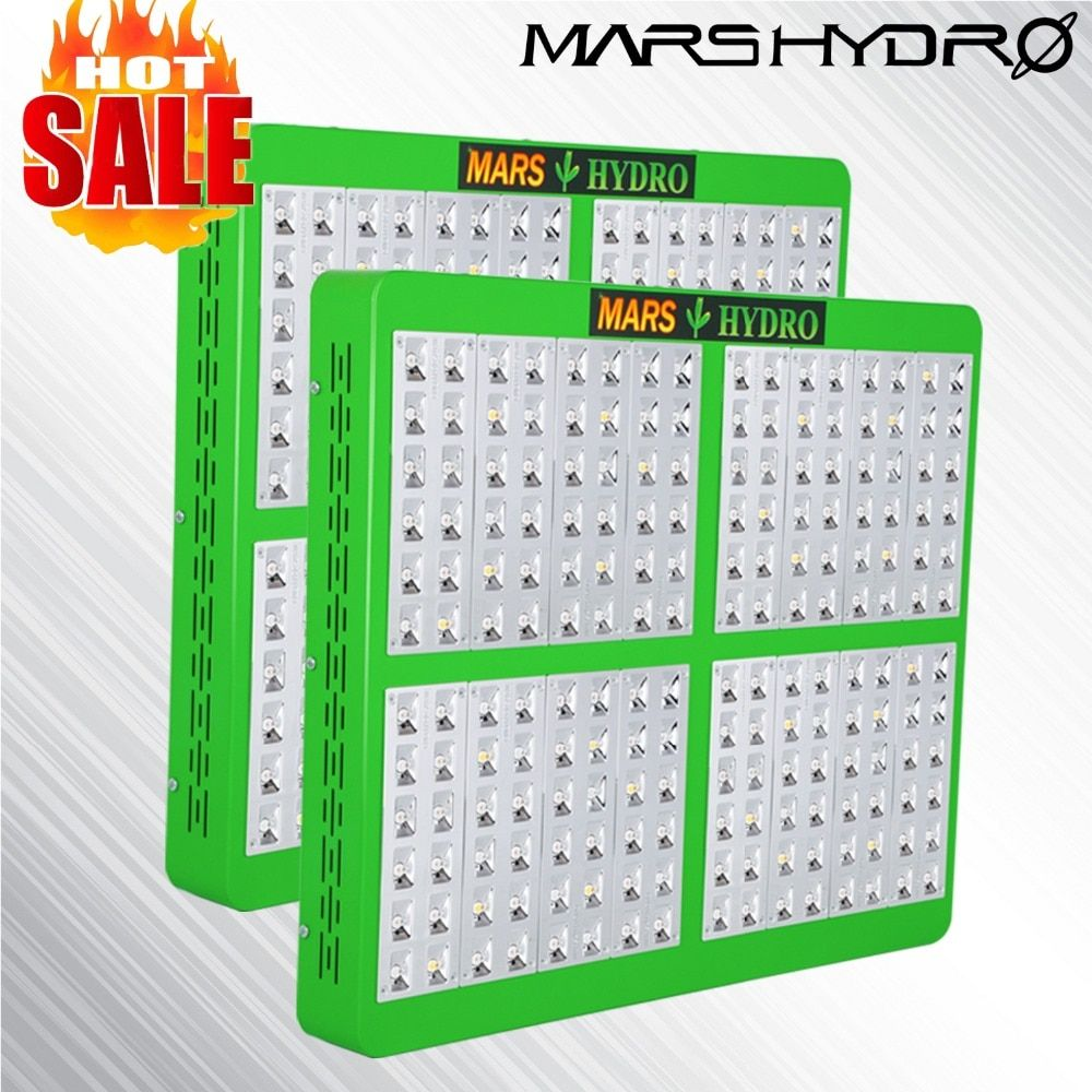 2PCS Mars Hydro Reflector 960W LED Grow Light Full Spectrum Panel Veg Flower for Medical indoor plant