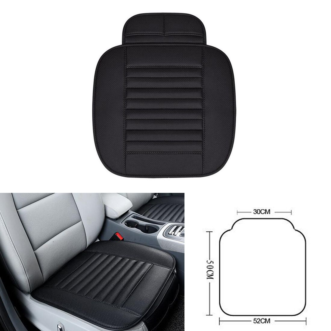 Dongzhen 1X Car Seat Covers Protector Driver Chair Pad Breathable Car Interior Seat Cover Pads Seat Cushion Auto Accessories