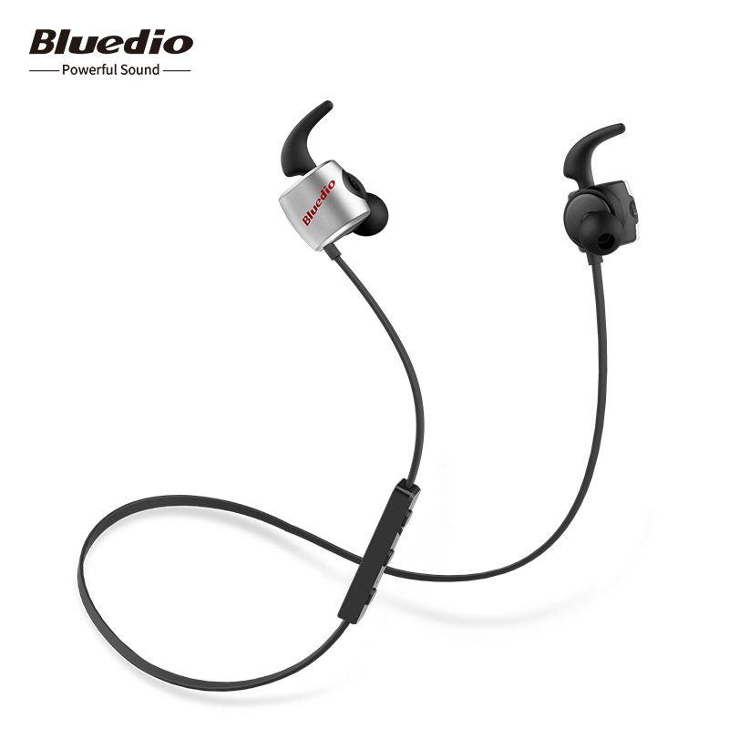 Original Bluedio TE mini sport bluetooth headset wireless earbuds sweat proof earphones with microphone for phone & music
