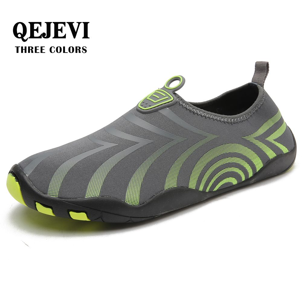 Free Shipping QEJEVI MEN Water sport Beach <font><b>Aqua</b></font> shoes Quick Drying Breathable Upstream sneakers swimming Walking Diving Socks