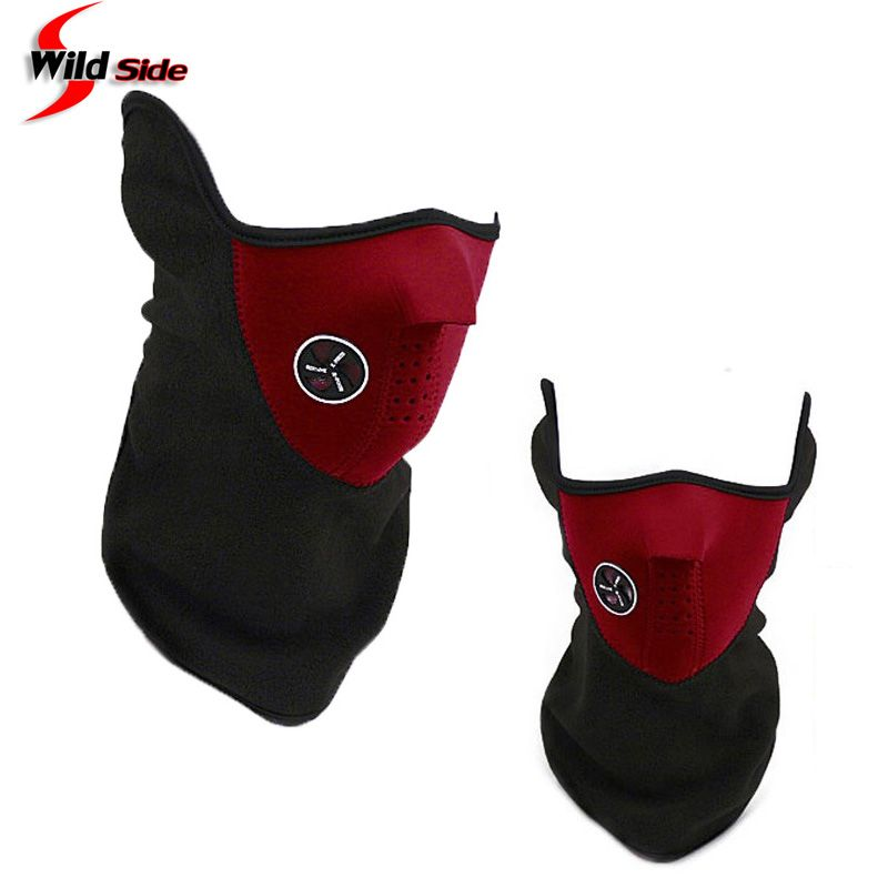 Outdoor Sports Face Mask Winter Anti Pollution Filters Breathable Windproof Dustproof Mask Bike Cycling Masks Red Blue Black