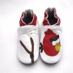 Gaya panas menjual Dijamin 100% lembut bersol Asli sepatu Kulit bayi/Pertama Walkers gratis pengiriman