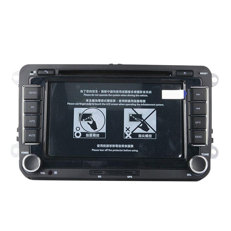 7 Inches 2 Din GPS Navigation Car DVD Radio Stereo Player for Volkswagen VW Golf 6 Touran Passat B7 Sharan Touran Polo Tiguan