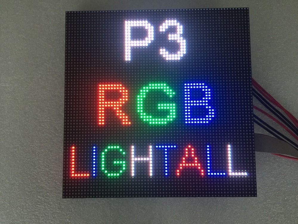 64x64 RVB d'intérieur hd p3 d'intérieur a mené le module de mur vidéo de haute qualité P2.5 P3 P4 P5 P6 P7.62 p8 P10 A MENÉ le panneau polychrome a mené l'affichage