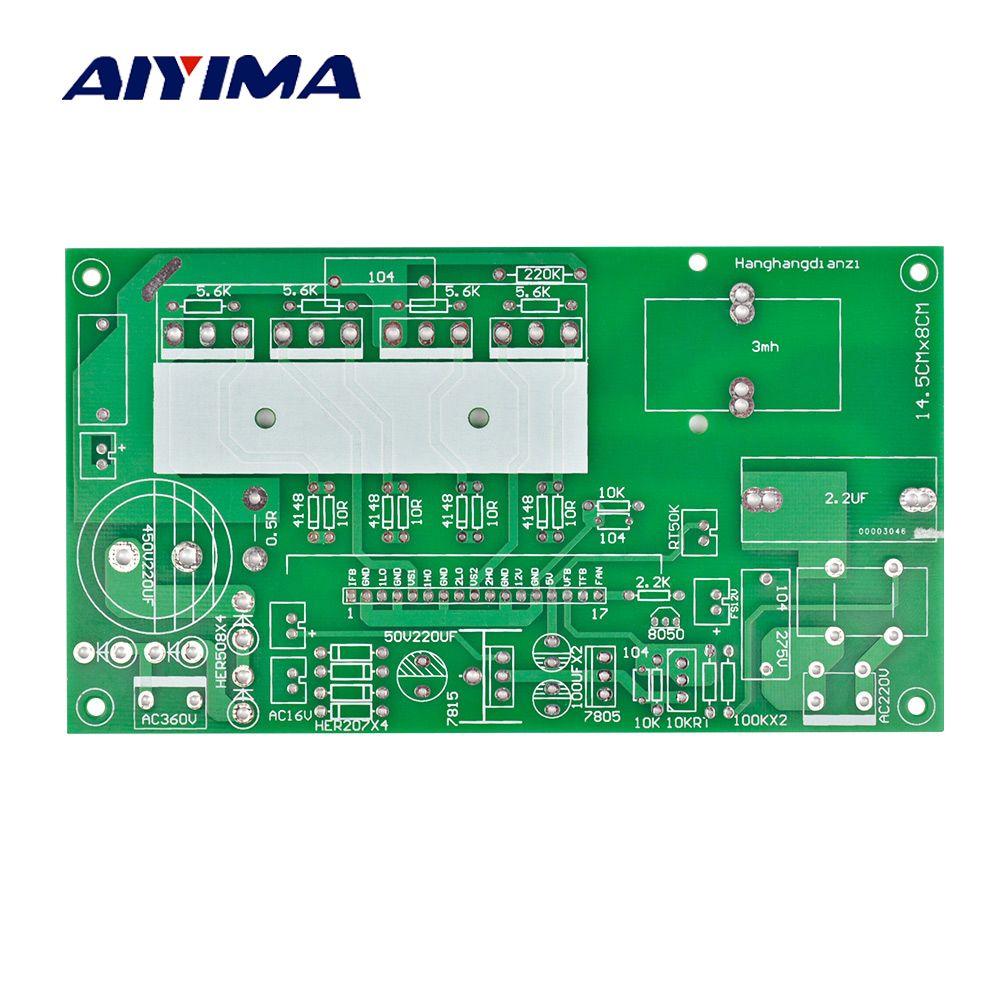 Aiyima Sine Wave Inverter Rear Empty Board 500W To 1800W Universal Bare Board