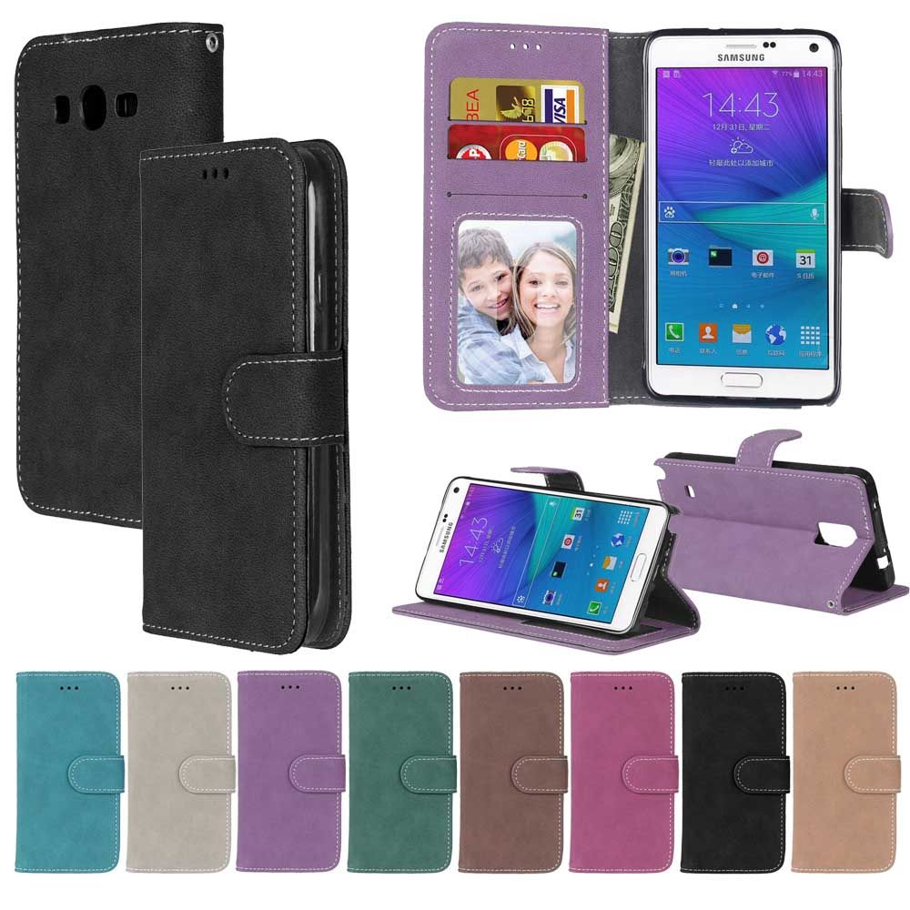 Matte Leather Case For Samsung Galaxy J2 Prime duos G532F G532M SM-G532F Phone case Flip Cover For Samsung Galaxy J2 Prime Case