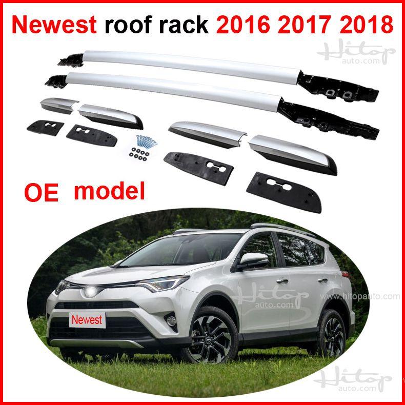 Новые Спойлеры багажа Бар Багажник для Toyota RAV4 2016 2017 2018, О. Е. модель, 100% совместимость, предоставленный iso9001 фабрики