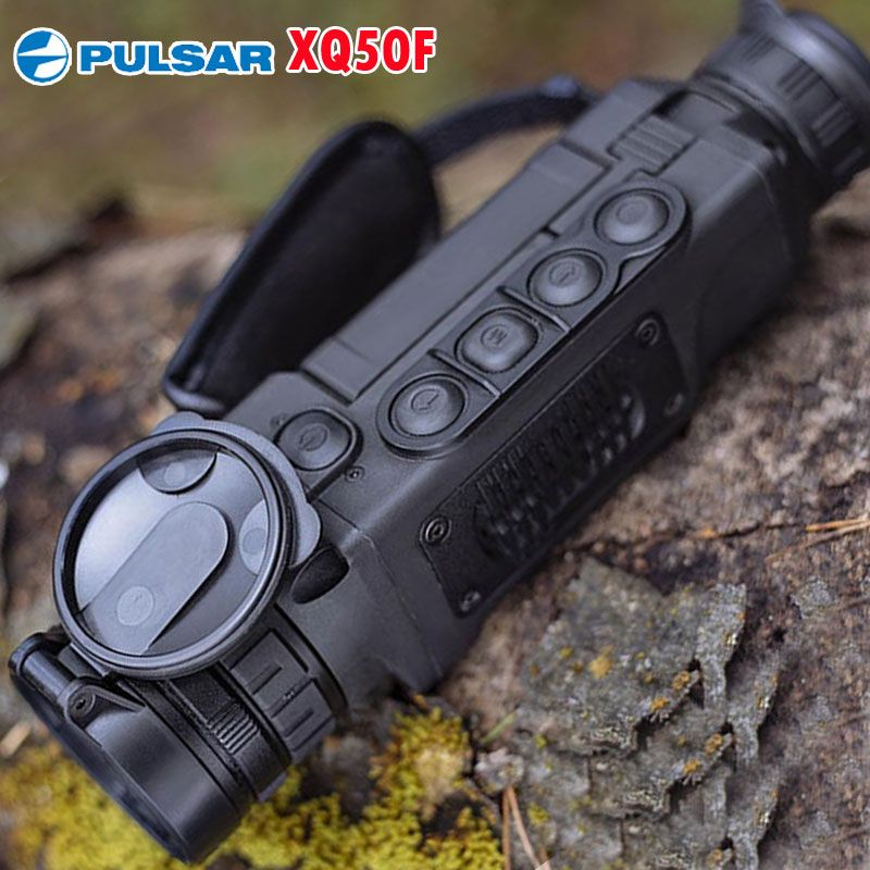 Pulsar XQ50F Thermal Imaging Monocular 50Hz Handheld Thermal Spotting Night Vision Camera Range 1800m For Hot Hunting