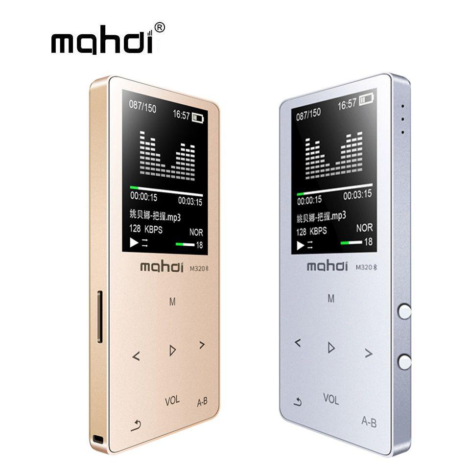 Mahdi MP4 Player Bluetooth Kapazitive Touch Eingebaute Lautsprecher MP 4 Player 1,8