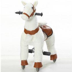 M Ukuran Anak Mekanik Berjalan Naik Kuda Mainan Goyang Hewan Naik Mewah Mainan Hobby Horse Pony Skuter Anak Natal hadiah