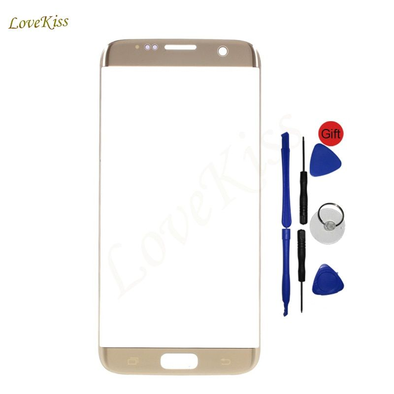 Touch Screen For Samsung Galaxy S7 Edge G935FD G935 G935F 5.5 inch Touchscreen Panel Front Glass Outer Lens Replacement No LCD