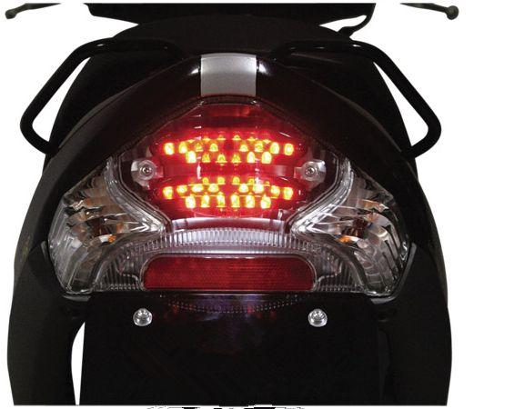 Motorrad Zubehör Für SUZUKI Adresse V125g/V125 motorrad roller modifizierte LED rücklicht montage bremse Hinten schwanz licht