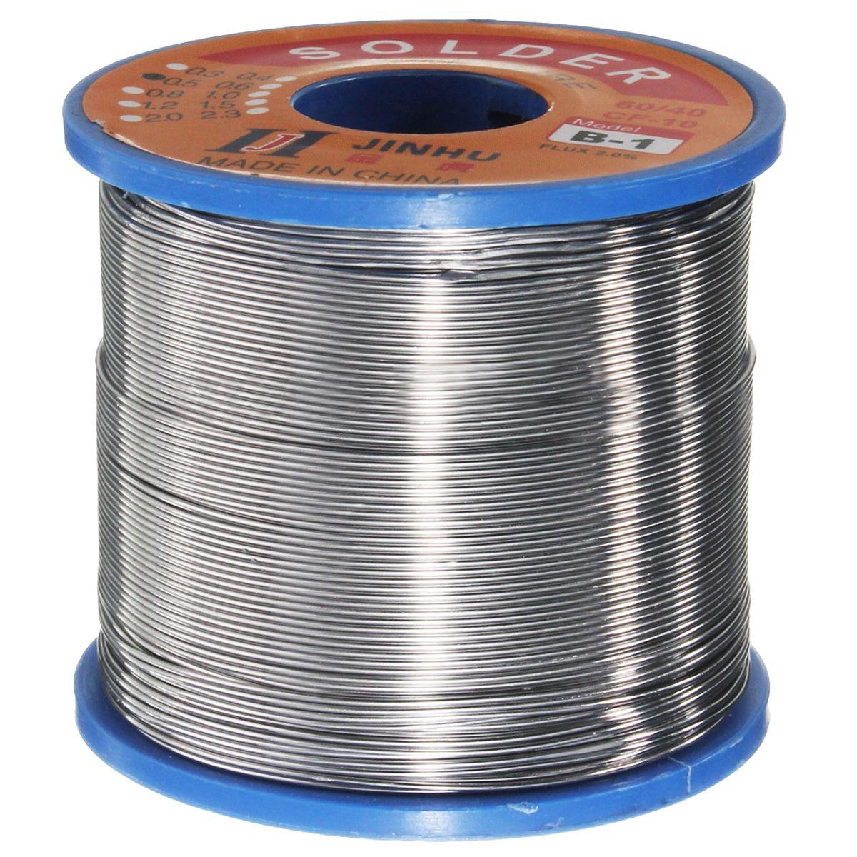 400g 60/40 Zinn blei Solder Flux Draht Kolophonium Core Löten Rolle 0,5mm