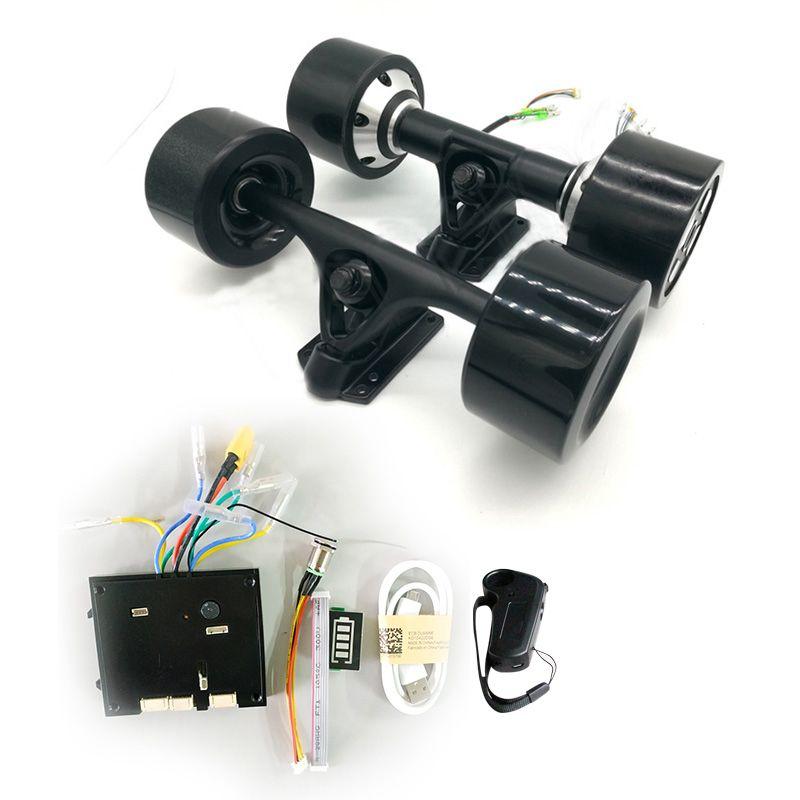 Dual Stick 70mm 83mm 90mm 180 W 250 W 350 W Elektrische Skateboard Hub Motor 8 zoll lkw Dual Stick Elektrische Skateboard Motor