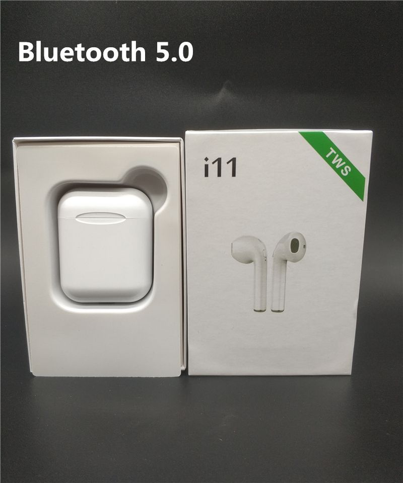 i11 tws Bluetooth 5.0 Earphones Wireless mini Earbuds Stereo Headphones With Mic For IPhone Xiaomi Mobile Android Ios Phones