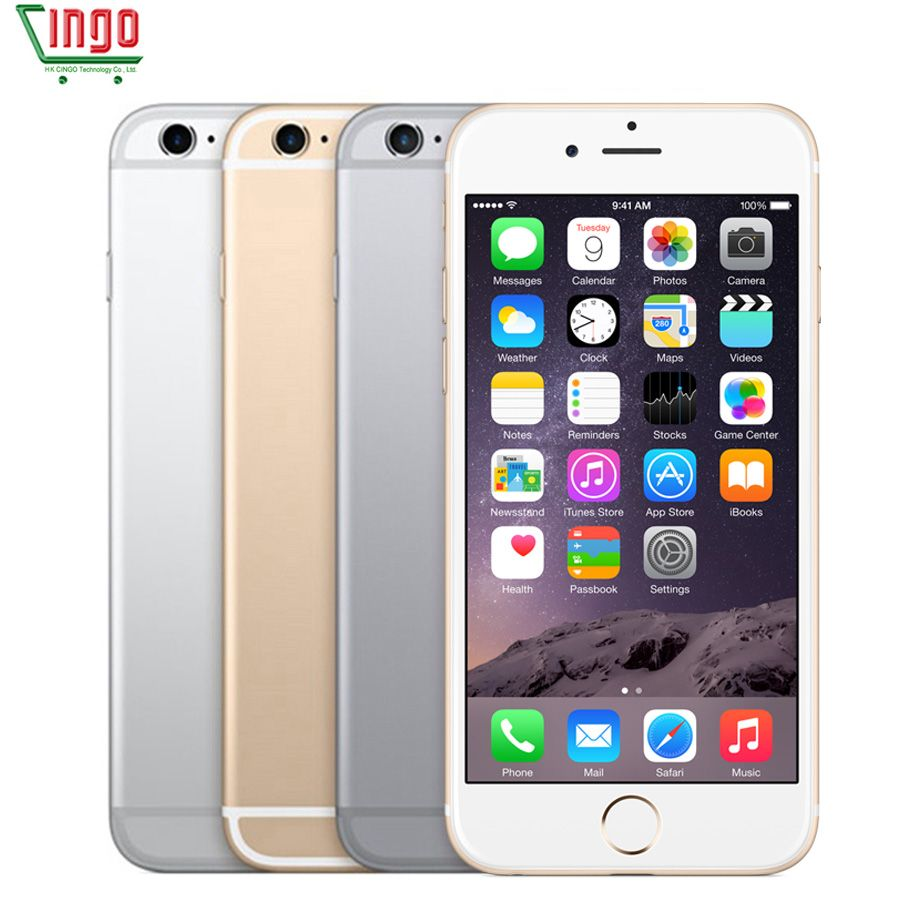 Unlocked <font><b>Apple</b></font> iPhone 6s Dual Core 4.7'' 2GB RAM 16/64GB ROM 4G LTE Mobile phone 4K Video iOS 9 12.0MP IOS 9 Smartphone Rated