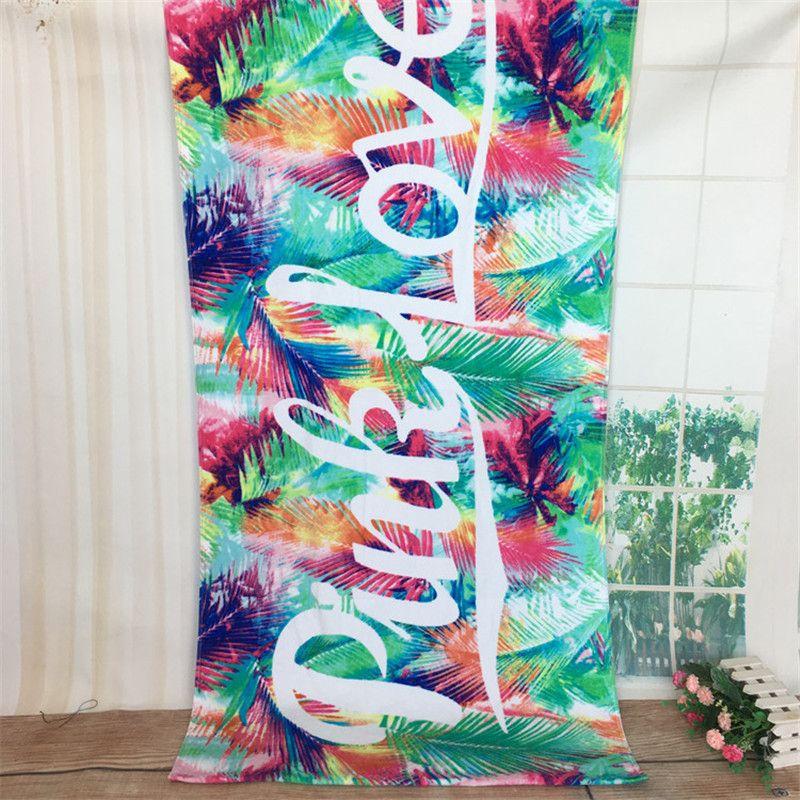 XC USHIO 70*145 cm Rose Doux Coton Serviette De Plage Voyage De Natation De Bain Serviette De Yoga Bureau Canapé Couverture Mur tapisserie Toalla Playa