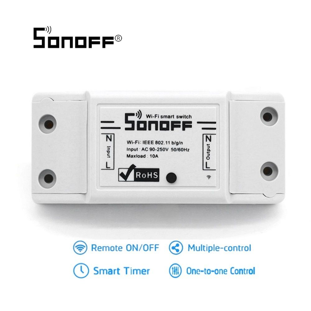 Sonoff WiFi Wireless Smart Switch Universal Smart Home Automation Relaismodul Mit IOS Android APP Controller Für DIY
