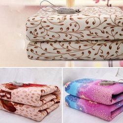 Высококачественное фланелевое одеяло с подогревом, электрическое одеяло, безопасное электрическое толстое покрывало, один электрический ...