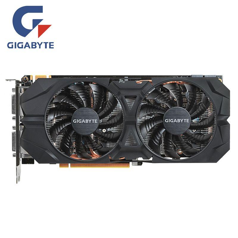 GIGABYTE Video Card Original GTX960 2GB 128Bit GDDR5 2GD5 Graphics Cards for nVIDIA Geforce GTX 960 N960WF2OC-2GD Hdmi Dvi Cards