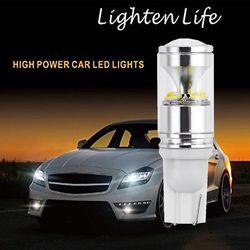 T10 30 Вт автомобиля Противотуманные огни лампочки источников высокого Мощность LED Внешнее освещение вождения авто лампы Универсальный Белый...