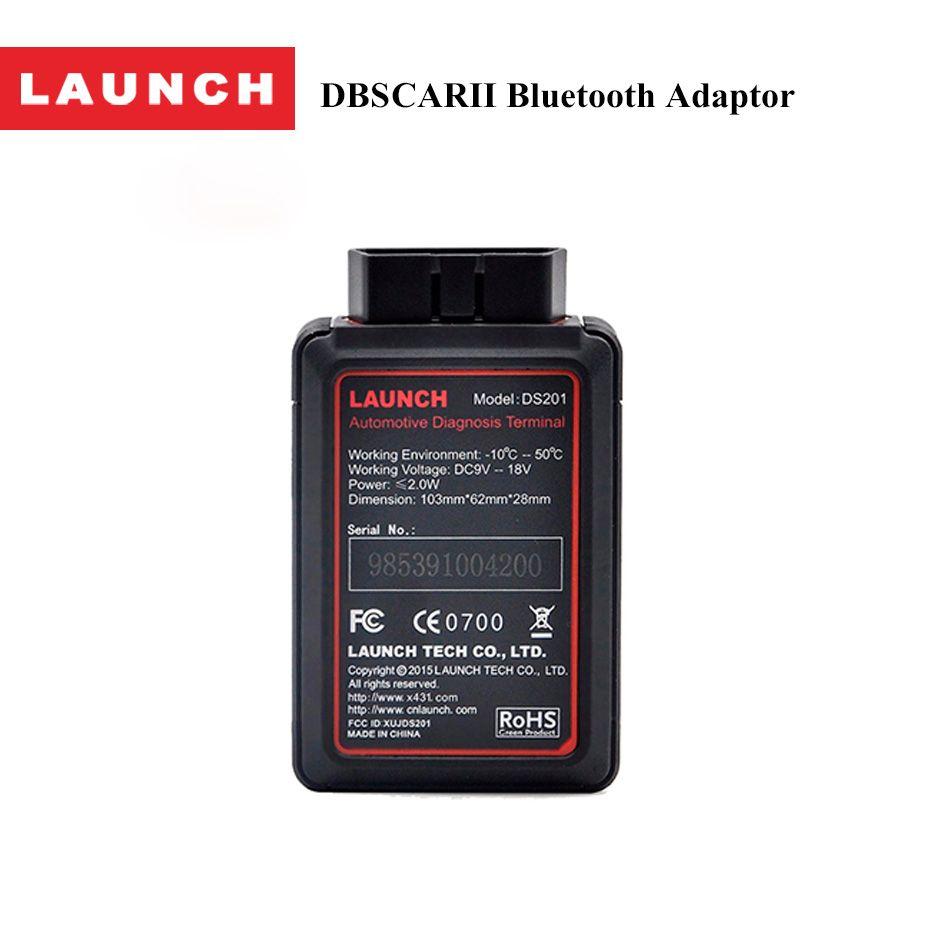 LAUNCH Original DBSCARII Bluetooth Adaptor for X431 V+ Pro 3 Launch DBScar II Adapter