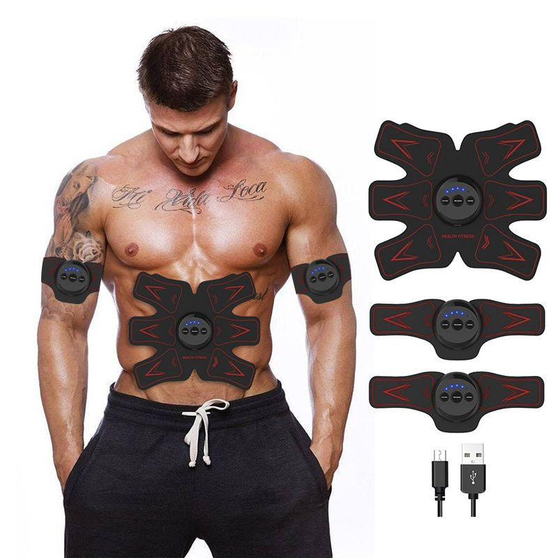 Rechargeable Fitness Muscle Stimulator Academy training apparatus Samrt EMS Abdominal Fitness exercise Gym equipment