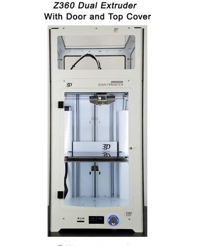 Neueste JennyPrinter3 Z360 Dual Extruder Düse 3D Drucker DIY KIT Für Ultimaker 2 UM2 Extended Enthalten Alle Teile