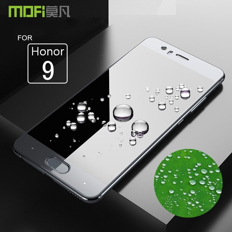 Honor 9 glass Huawei honor 9 tempered film MOFI 2.5D full cover HD screen protector glass for honor9 tempered glass 5.15