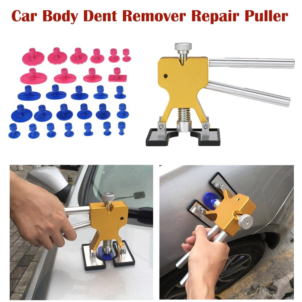 Adjustable Dent Lifter Automotive Paintless Dent Repair Tools Dent Remover Lifter PDR Hail Repair Tool Dent Puller Glue Puller