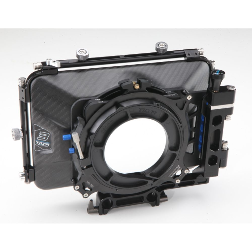 Tilta MB-T03 4*4 Carbon Fiber Matte box for 15mm rail support rig DSLR HDV Rig follow focus shooting