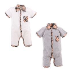 Style d'été Bébé Garçon Barboteuse Nouveau-Né Bébé Vêtements pyjamas Nouveau-Né Bébé Fille Vêtements Ropa Bebe Enfants Tout-petits Barboteuses HB022