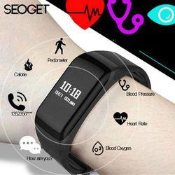 Splashproof fitness tracker Smart Bracelet Heart Rate/blood pressure watches smart wristband Call reminder Pedometer smart band