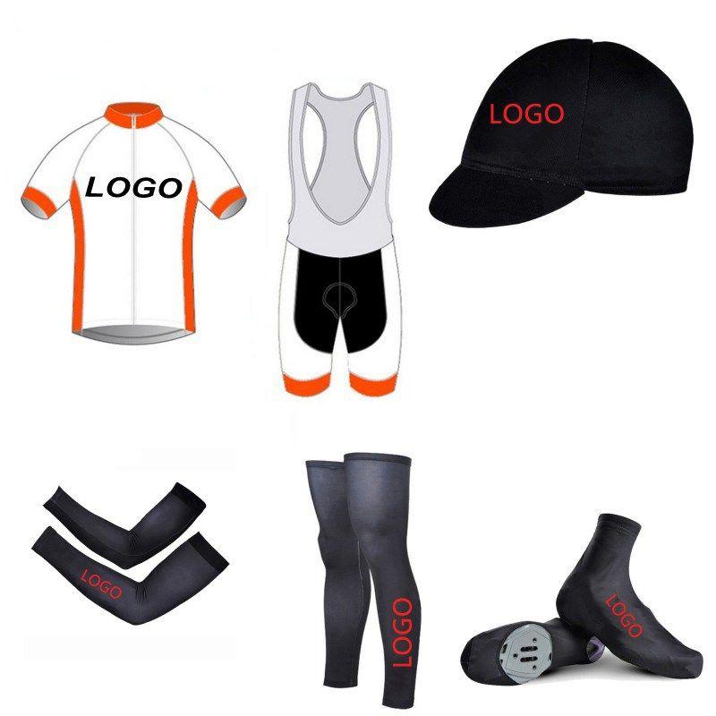 6 stücke Vollen satz 2018 SGCIKER benutzerdefinierte radfahren jersey kurzarm quick dry bike bekleidung MTB Ropa Ciclismo Fahrrad maillot GEL pad