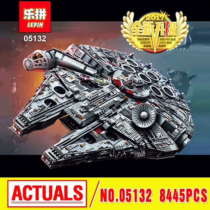 In Stock LEPIN 05132 Ultimate Collector's Destroyer Star Series Wars Building Blocks Bricks Children birthday gifts 75192