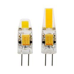 1 pcs Mini G4 LED COB Lampe 3 W 6 W Ampoule AC DC 12 V 220 V Bougie Silicone Lumières Remplacer 20 W 30 W 40 W Halogène pour Lustre Spotlight